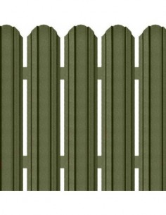 Sipca metalica gard colorata lucioasa cu inaltime 1250 mm