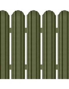 Sipca metalica gard colorata lucioasa cu inaltime 1700 mm
