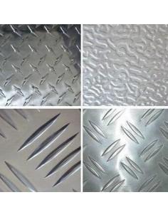 Tabla aluminiu striata 1250x2500 mm